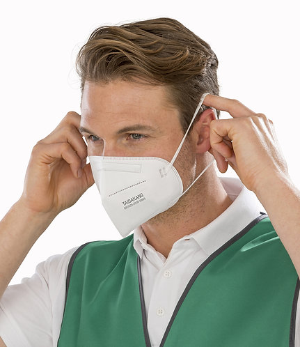 Result FFP2 4-Ply Disposable Respirator Mask