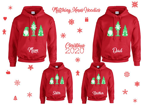 Christmas Matching Hoodies