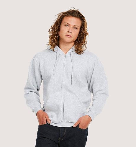 Uneek Adults Classic Full Zip Hooded Sweatshirt