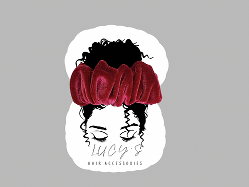 Hair Accessories Card
