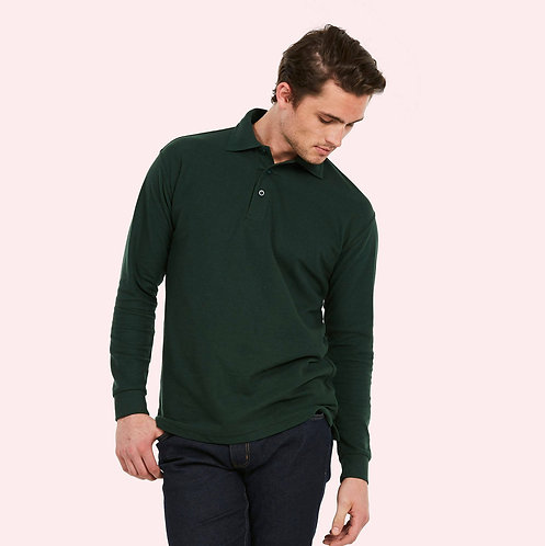 Uneek Longsleeve Poloshirt
