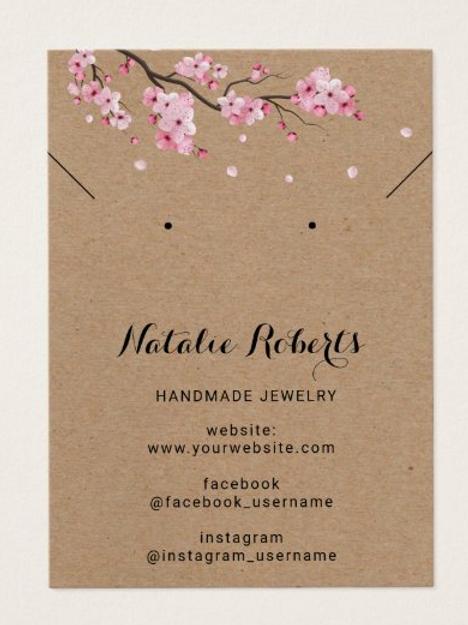 Jewellery Cards