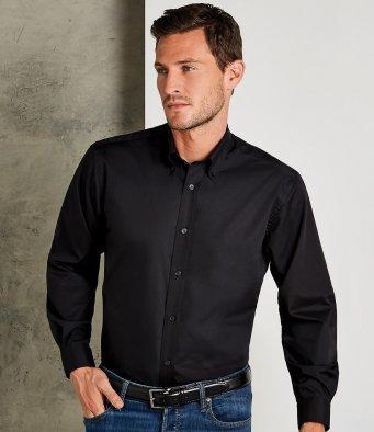 Kustom Kit Long Sleeve Classic Fit Workforce Shirt