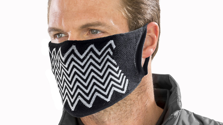 Result ZigZag Anti-Bacterial Face Cover