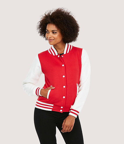 UneekLadies Varsity Jacket