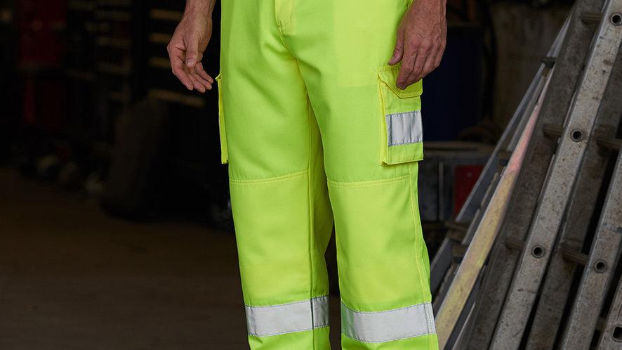 PRO RTX Hi-Vis Cargo Trousers