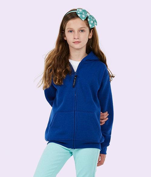 Uneek Childrens Classic Full Zip Hooded Sweatshirt