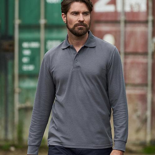 PRO RTX Pro Long Sleeve Piqué Polo Shirt