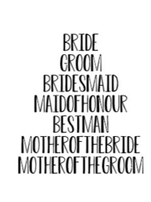 Bridal Party Small Bundle