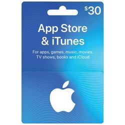 Apple App Store iTunes $30 eGift Card