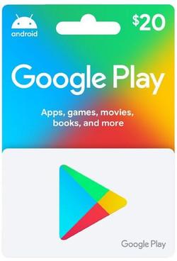 Google Play $20 eGift Card