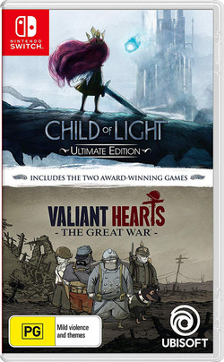 Child of Light + Valiant Hearts