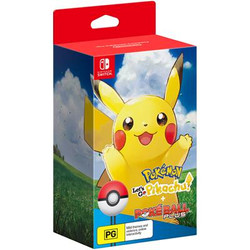 Pokemon Let's Go Pikachu Pokeball