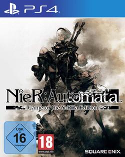 Nier Automata Game of the Yorha Edition.