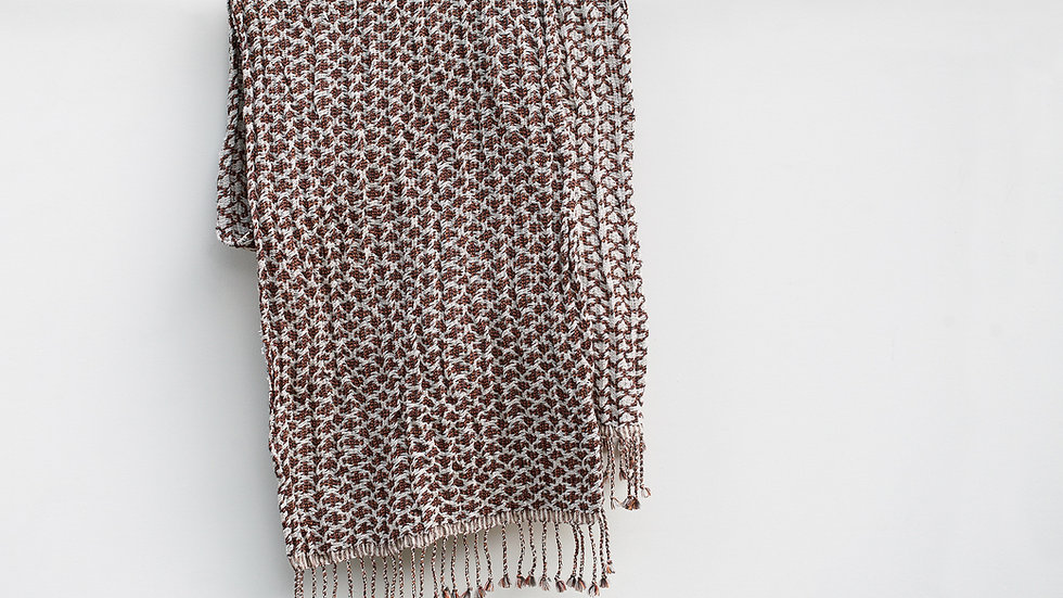 Silk, Wool and Paper Scarf
