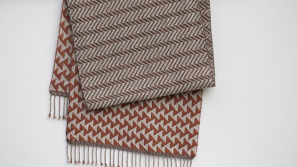 Silk, Linen and Mohair Scarf