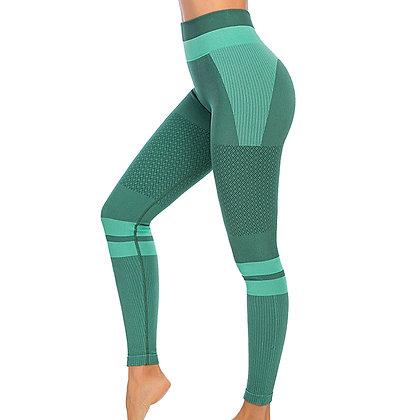 Womens High Waist Seamless Compression Fitness Yoga Leggings