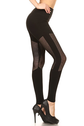 PREMIUM JEDI MESH SEAMLESS LEGGINGS
