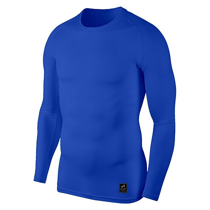 Fitness Men′s Long-Sleeved Bottoming Top