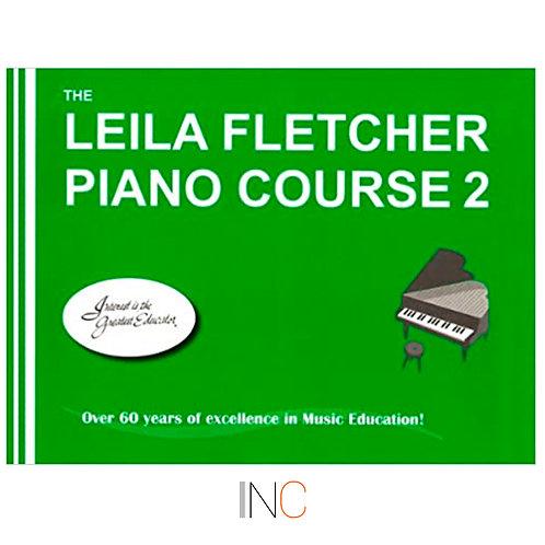 Livro para piano Leila Fletcher book 2