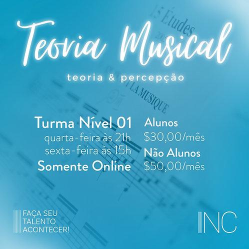 Aula On-line - Teoria Musical/Nível 01