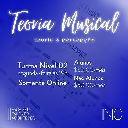 Aula On-line - Teoria Musical/Nível 02