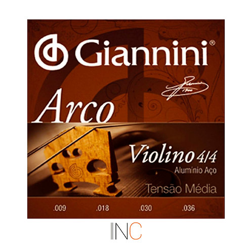 Encordoamento Giannini Arco Violino