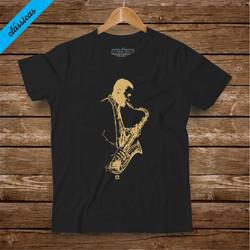 40 saxofonist preta