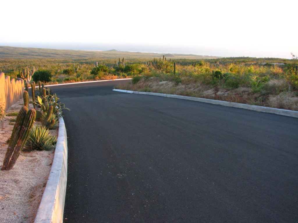 Paved roads as of Phase 1