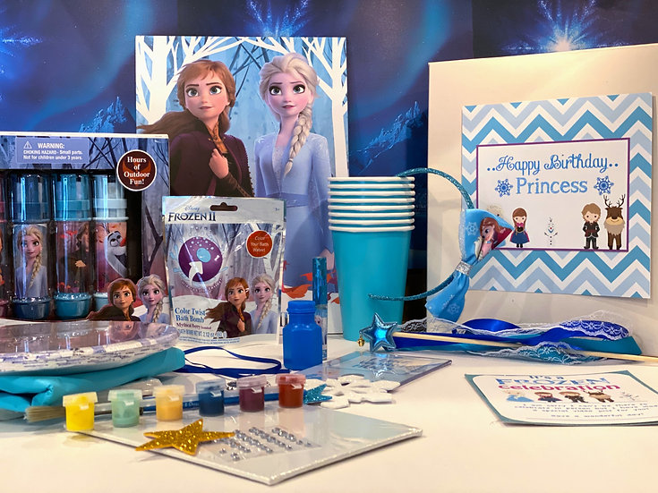 Large Frozen Birthday in a Box