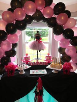 Barbie Cake Table