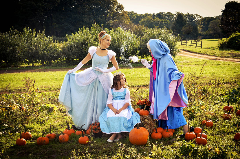 Cinderella and the Fairy Godmother Pumpkin Deliveries OCTOBER 31ST