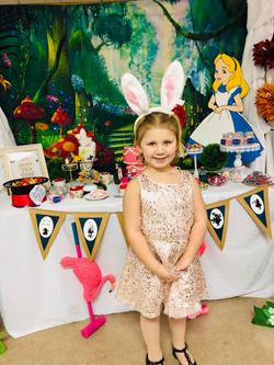 Alice backdrop