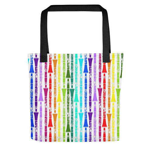 Colorful Clarinets Tote Bag