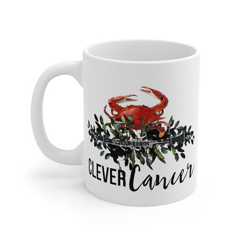 Clever Cancer & Clarinet Mug 11oz