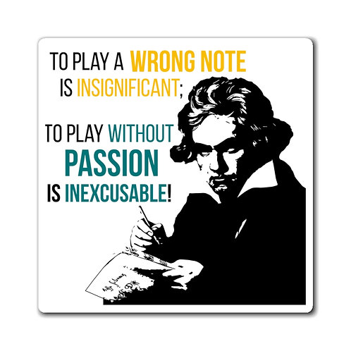 Beethoven Quote Magnets