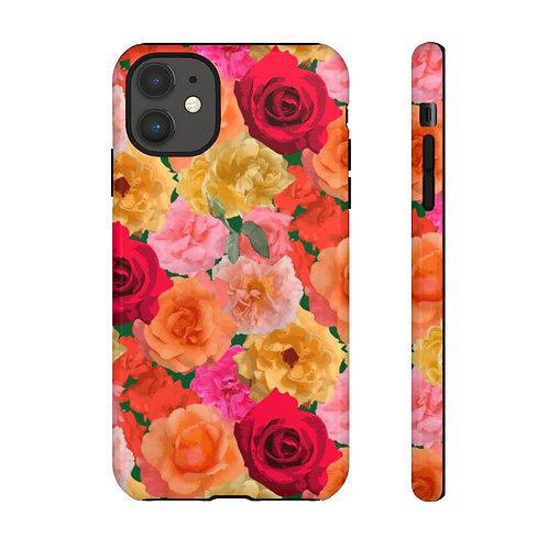 Loose Park Roses Tough Phone Cases