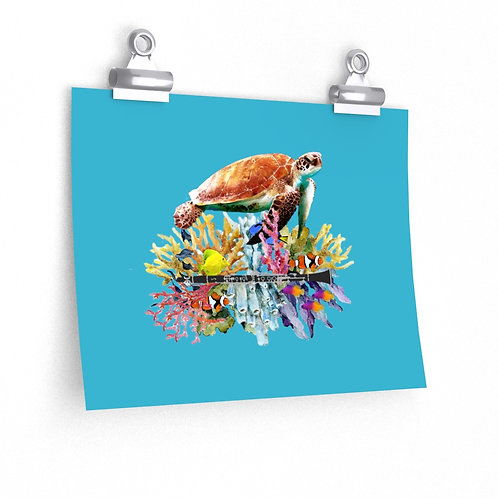 Clever Turtle & Clarinet Posters
