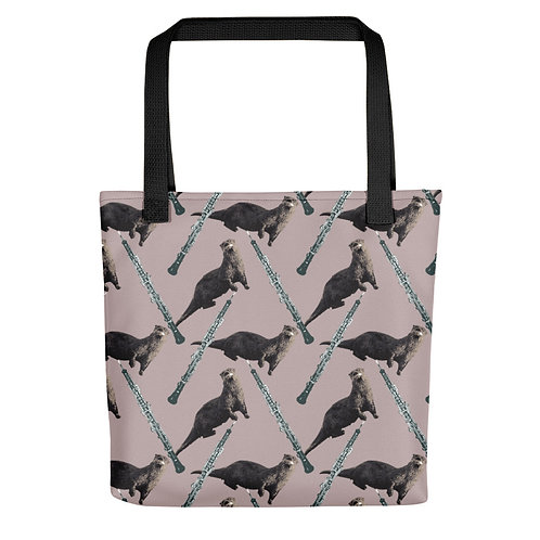 Oboes & Otters Tote Bag
