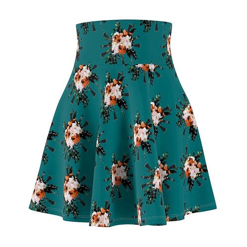 Clarinet Bouquet Skater Skirt