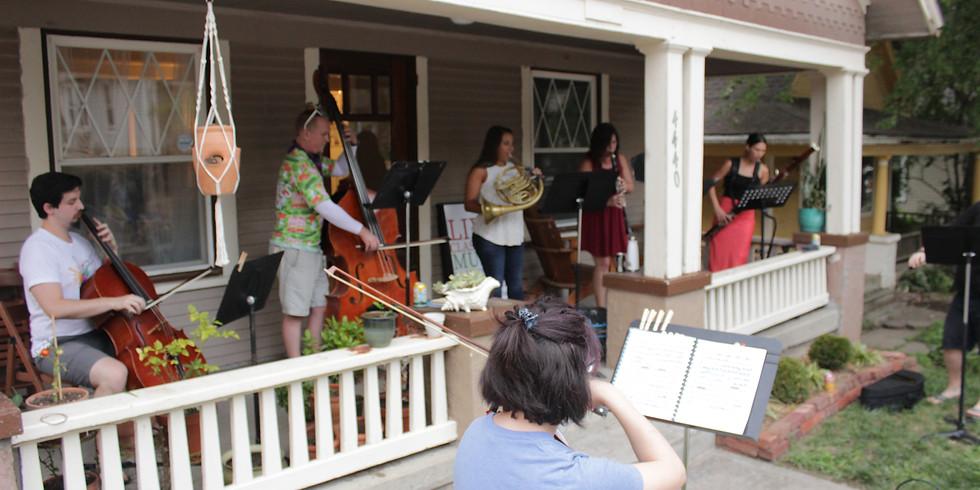 Porch Music at Woodyard BBQ