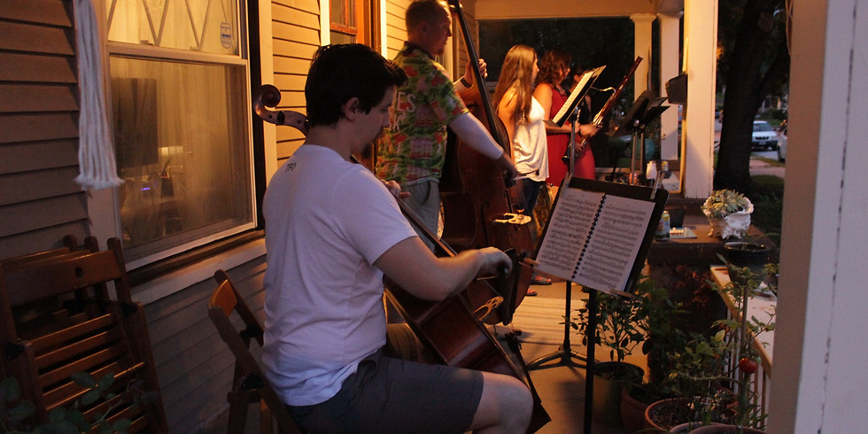 Porch Music at 45th and Bell
