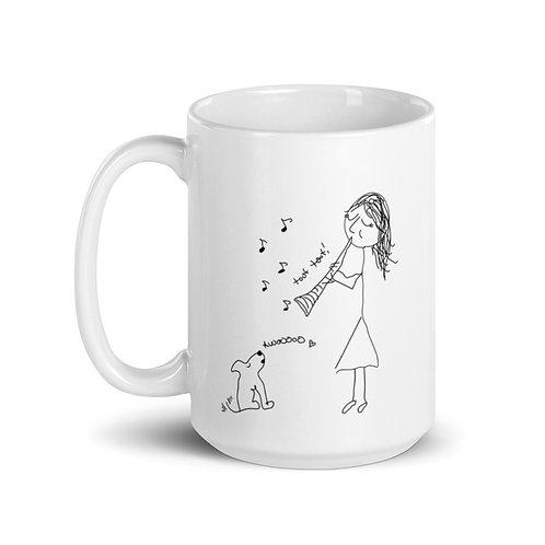 Serenade for Clarinet & Puppy Mug