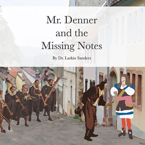 Mr. Denner and the Missing Notes eBook