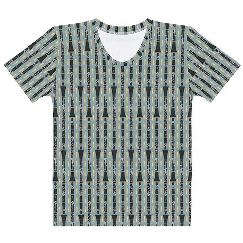 Clarinets & Reeds Linear Women's T-shirt
