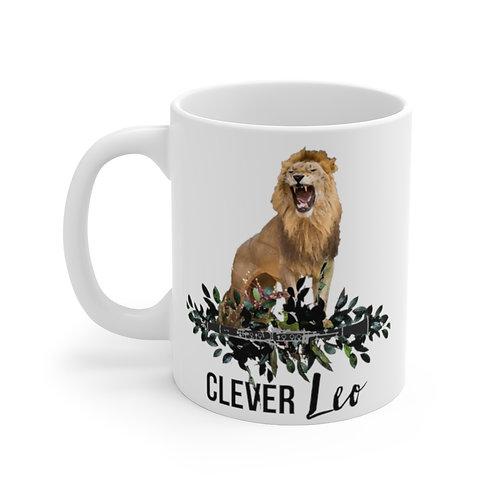 Clever Leo & Clarinet Mug 11oz