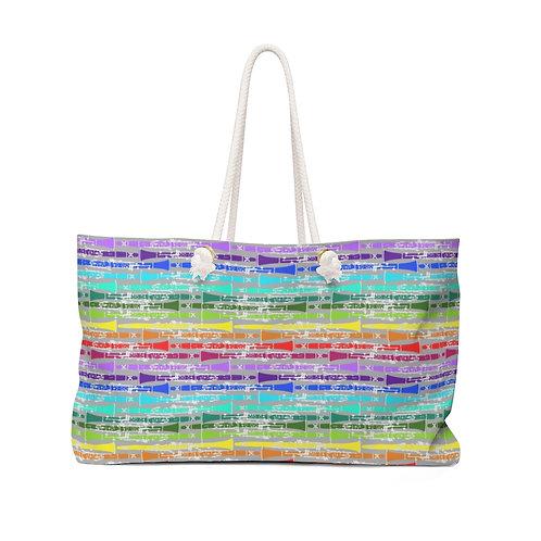 Rainbow Clarinets Weekender Bag