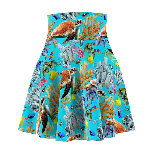 Sea Creatures Skater Skirt