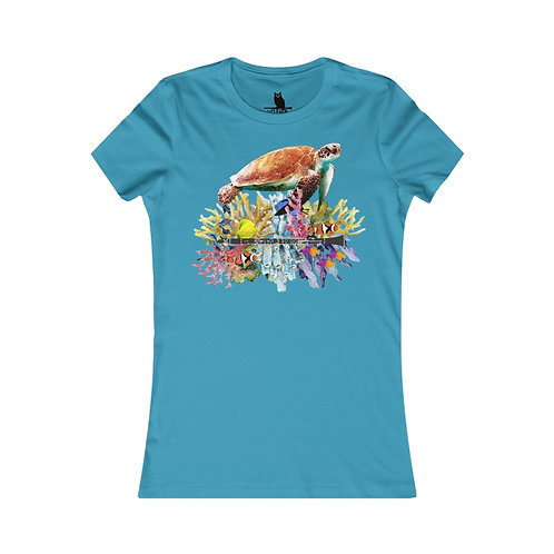 Clever Turtle & Clarinet Women's Favorite Tee