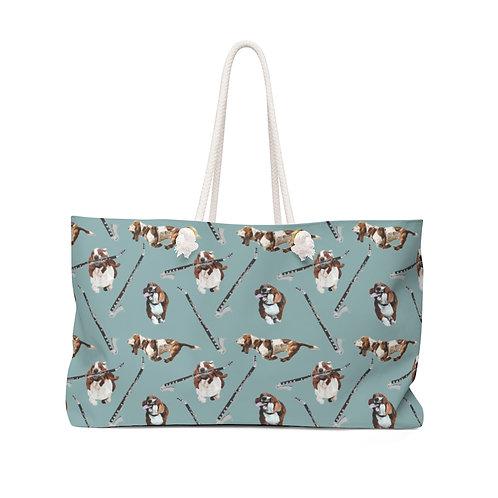 Basset Horns & Hounds Weekender Bag